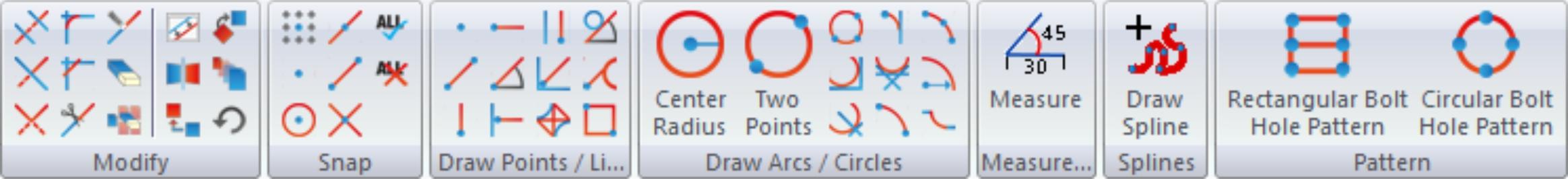 CNC-Calc Toolbar
